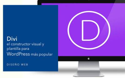 Divi el constructor visual y plantilla para WordPress más popular