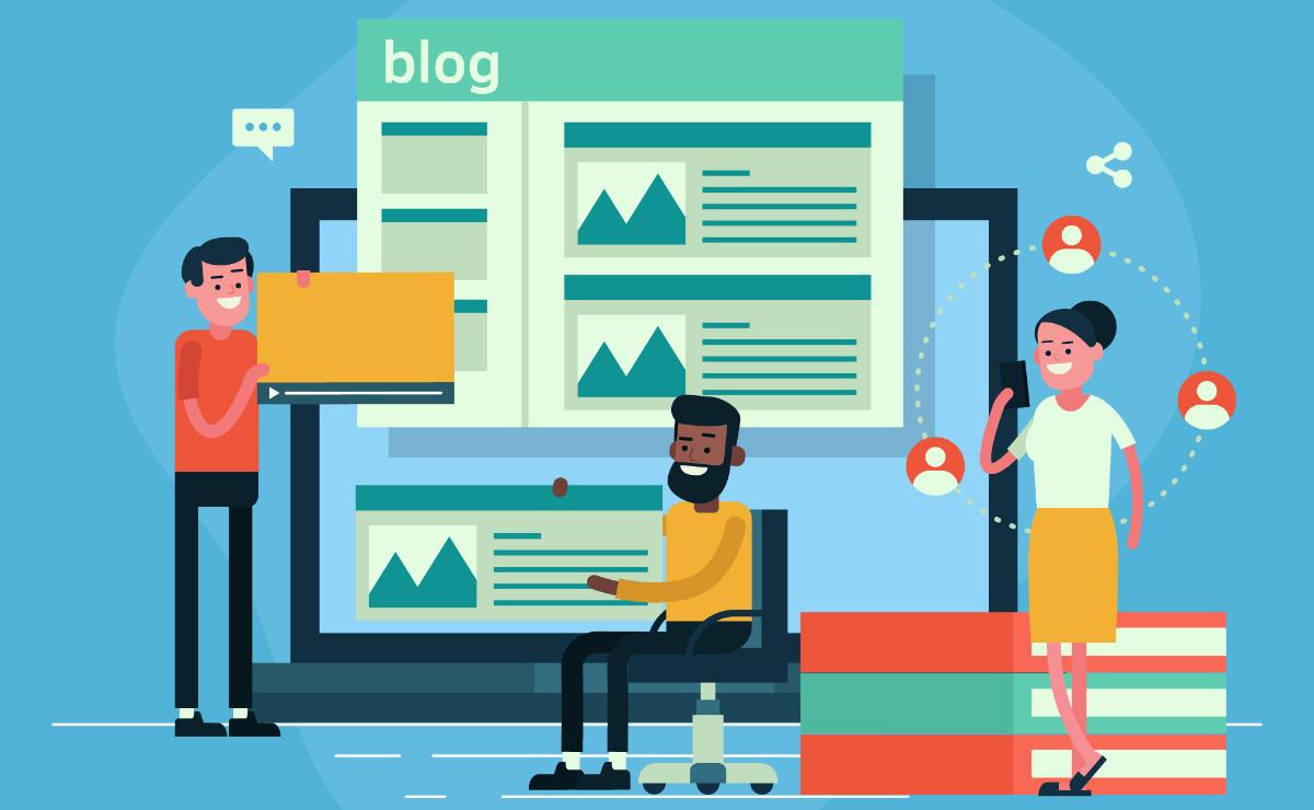 Coordinación de equipo blog