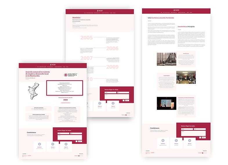 Presupuestar web vista previa