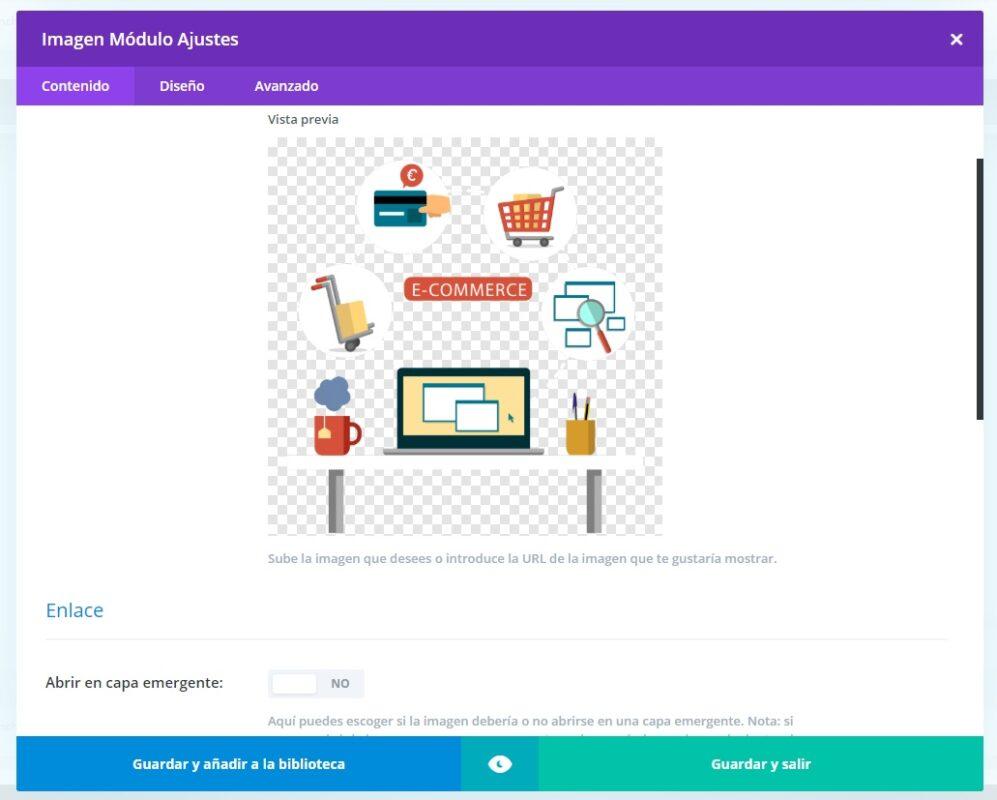 Iconos de tienda online