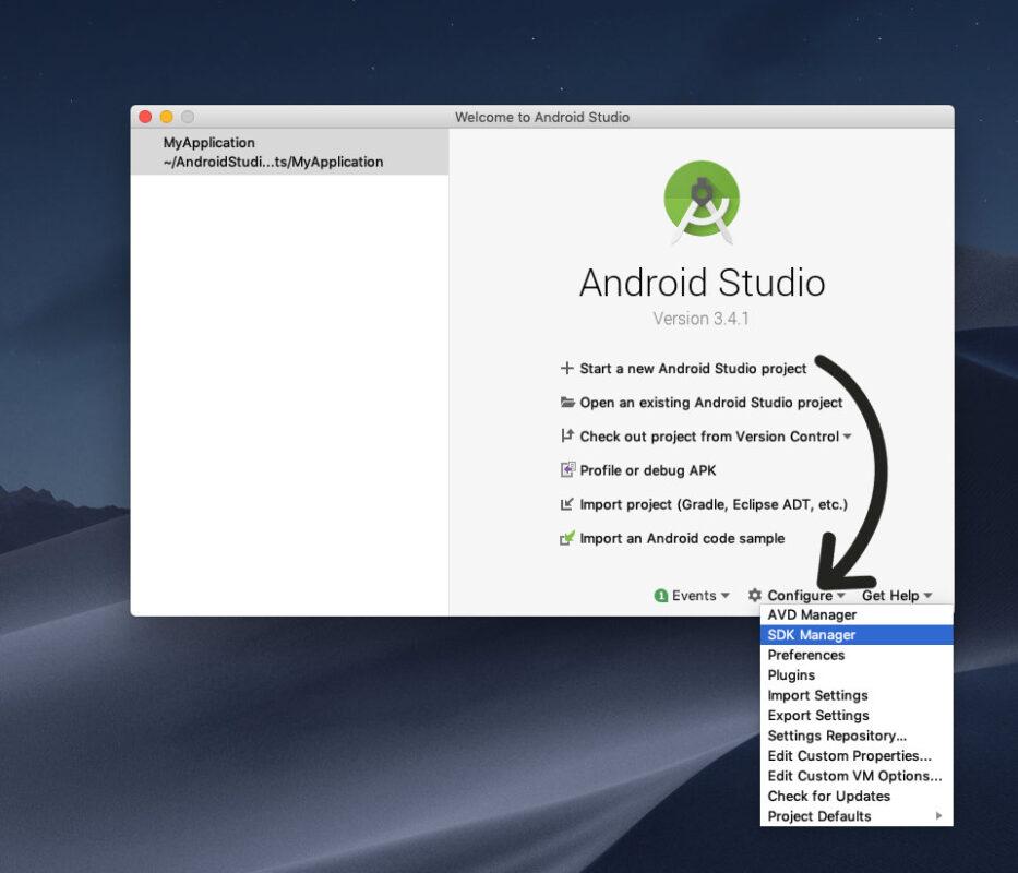Android Studio Ionic