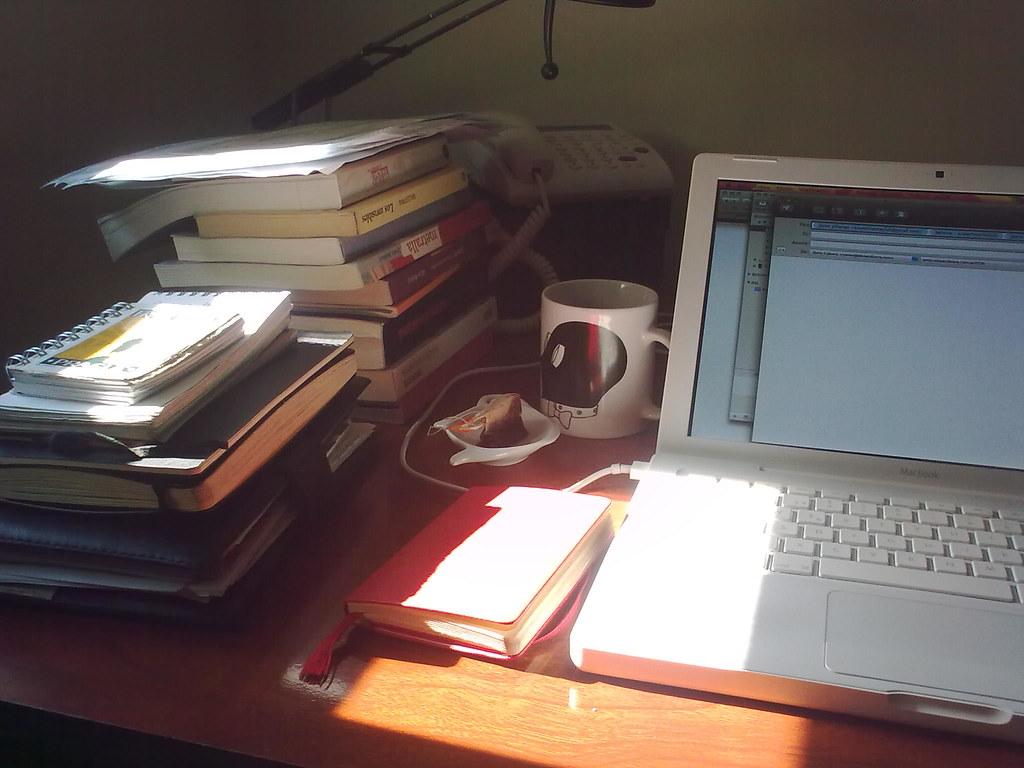 Escritorio teletrabajo