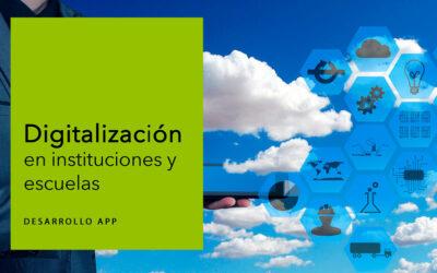 Digitalización en instituciones