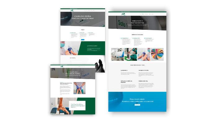 diseno-web-clinica-podologia-portfolio