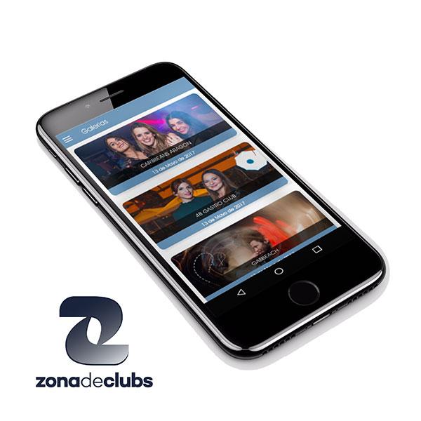 Innobing Desarrollo apps moviles: zonadeclubs